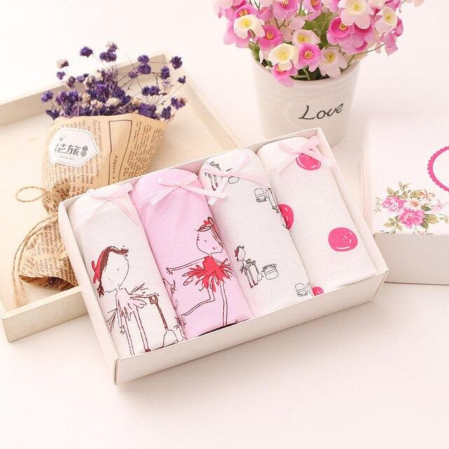 Baby Girls 4pcs/pack panties shorts Fashion Baby Underwear Cotton Panties For Girls Kids Short Briefs Children Underpants