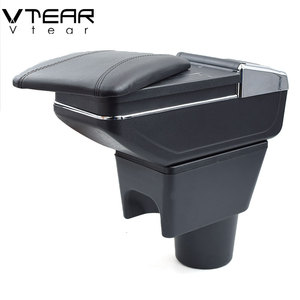 Image 3 - Vtear For renault dacia duster armrest box interior Storage central content box car styling decoration Accessories 2010 2015