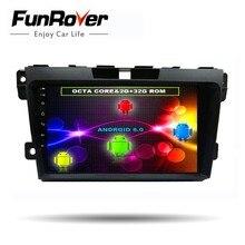 Funrover 8 ядер 2 din 9 »Android8.0 dvd-плеер мультимедиа для Mazda CX7 CX 7 CX-7 2008-2015 автомобиля стерео радио GPS головное устройство