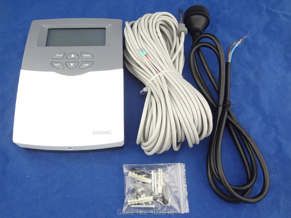 1 PCS of 220V CONTROLLER of SOLAR WATER HEATER, 1 SENSOR, 220V, MS-SWH-SRC-609-B controller of solar water heater  1
