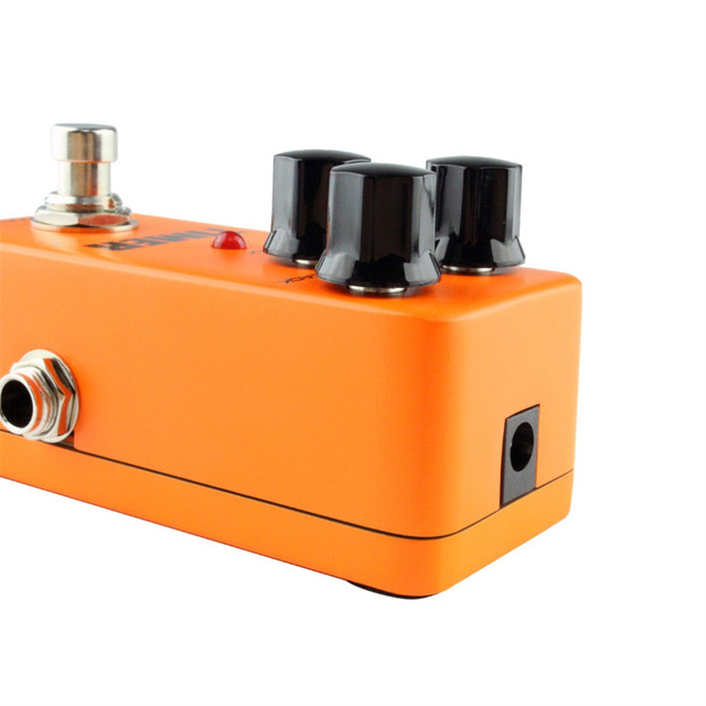 Brand KOKKO Mini Vintage Overdrive Guitar Effect Pedal Guitarra Overdrive Booster High-Power Tube Delay Guitar Stompbox FDD2