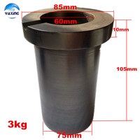Crucible Graphite Gold For Melting Metal High Purity Graphite Crucible 3kg