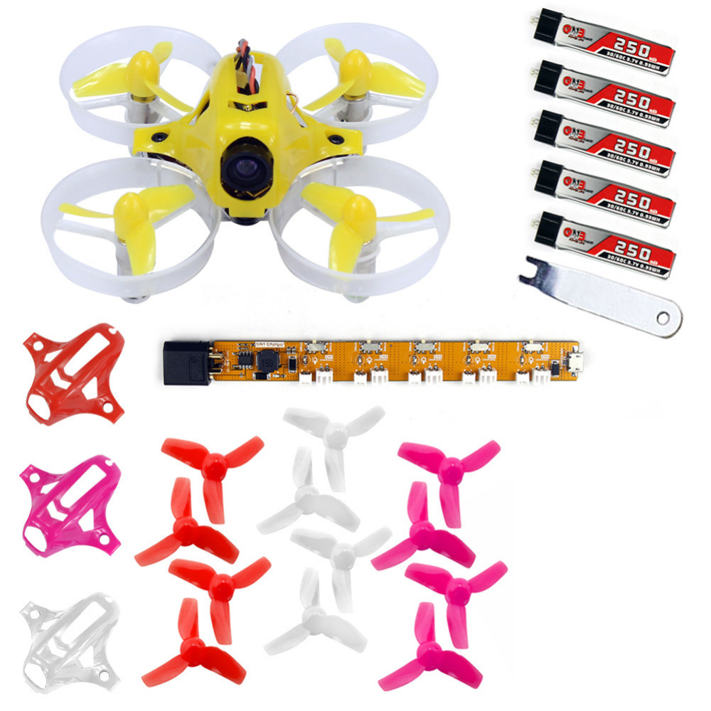 ФОТО Tiny6 PNP Mini Racing Drone Quadcopter Advanced Version with 800TVL Camera FASST FM800 / PPM / AC800 Receiver F20013/7