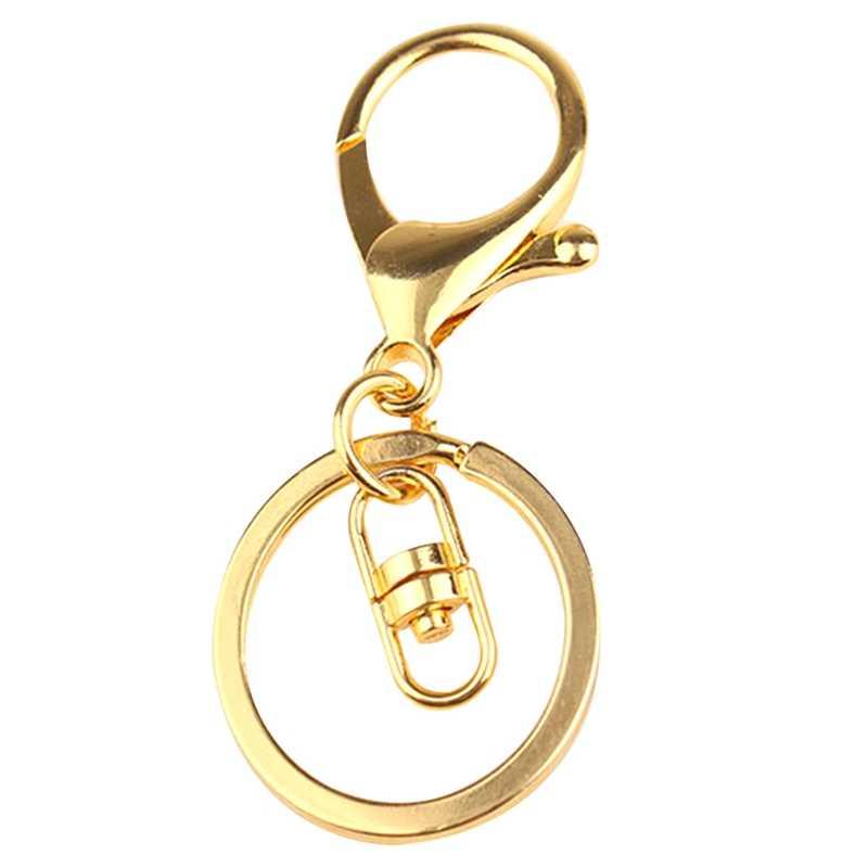 Высокое Качество, Модные золотые серебряные цепочки для ключей, кольцо, сделай сам, аксессуары для изготовления ювелирных изделий, запчасти для сумок, подвески, автомобильный брелок, брелок