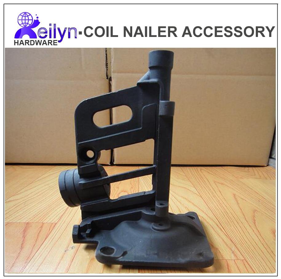 Bostitch N400C-1 Nose part Nuzzle unit Nailer spareParts for pneumatic Nail Gun air coil nailer Max Senco PAL100 kmt cn57 cn55 coil nailer pneumatic coil nail gun
