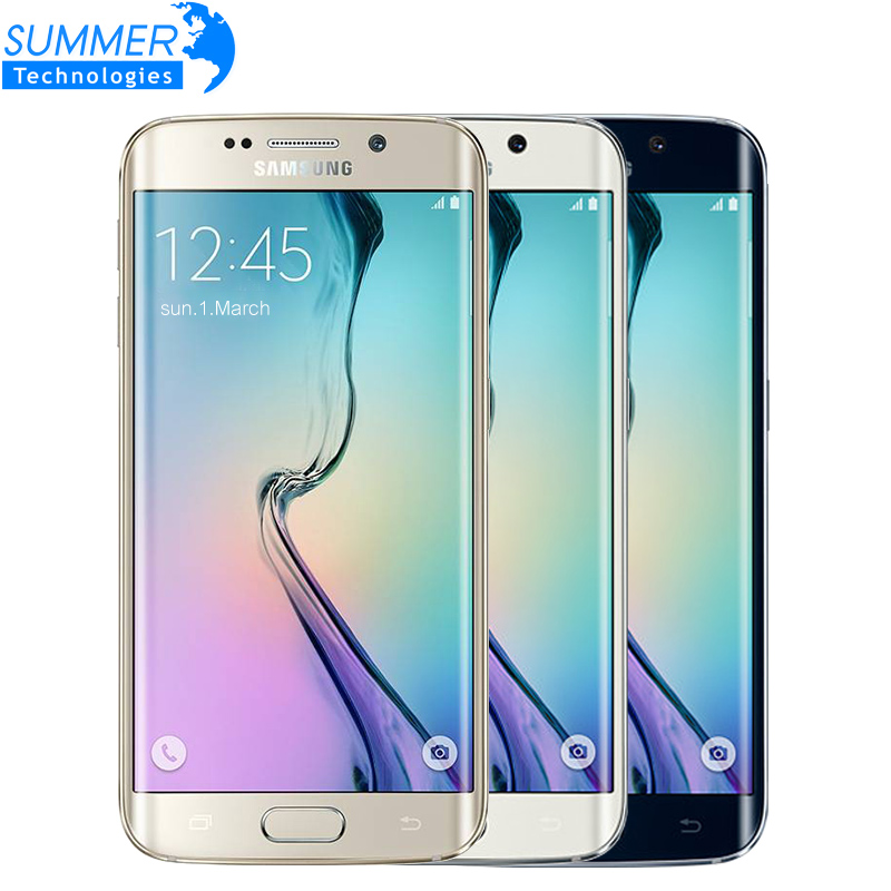 Originais Samsung Galaxy S6 G920F G925F Borda 5.1 Octa Núcleo 3 GB RAM 32 GB ROM 16MP GPS NFC Desbloqueado Refurbished Celular