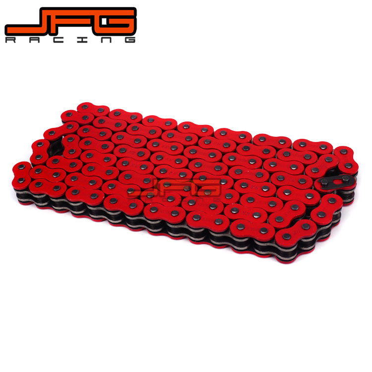 520 X Ring X-RING Oil Seal Chain 120 Link For CRF250 CRF450 KX250F KX450F KTM EXC SXF YZ250F YZ450F RMZ250 DRZ400 Dirt Bike 520 x ring seal chain 120 link for kawasaki kx65 kx85 kx125 kx250 kx500 kx250f kx450f klx450r klx150 klx250 dirt bike motorcycle
