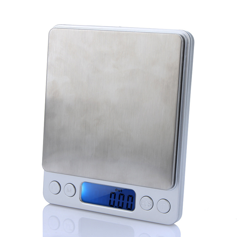 Mini Electronic Scale High Accuracy led Digital Platform Jewelry Weighing Balance Scale with 500g0.01g Counting Function