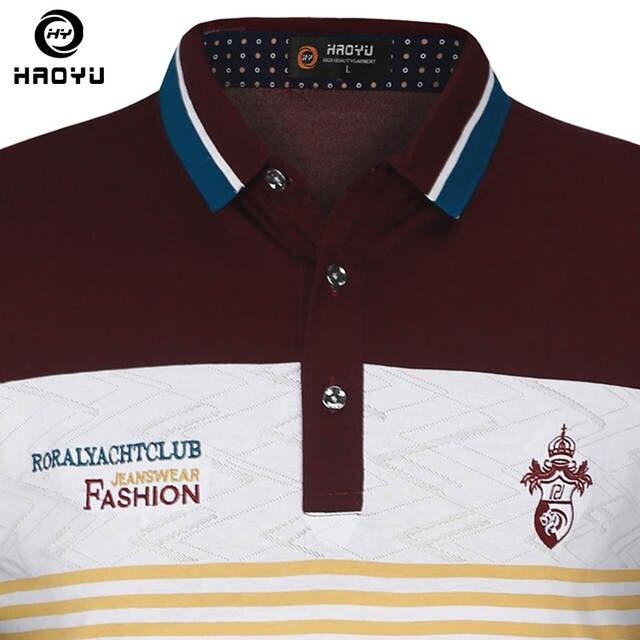 Chegada nova Mens Marcas Camisa Pólo de Mangas Curtas Roupas de Algodão com  Letra Logo Polo 6f4d7f0106201
