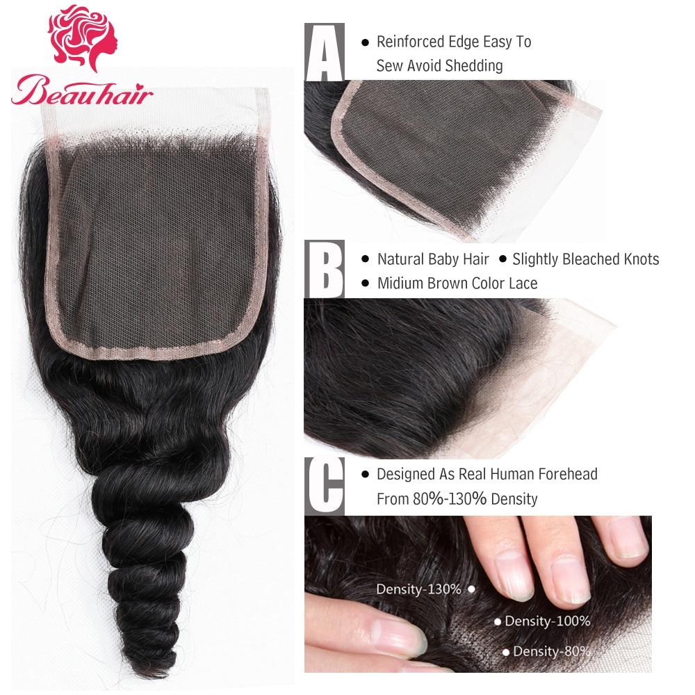 Beau Loose Curly Hair Malajziai Szőrt Varrócsomagok - Szépség és egészség - Fénykép 4
