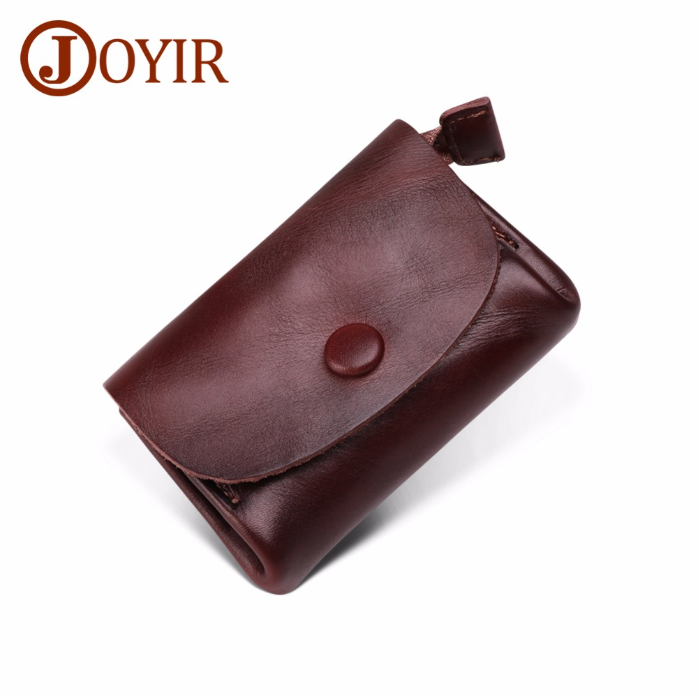 Men Mini Wallet Genuine Leather Small Women Coin Purse Money Bag Slim Wallet Coin Pocket Purse Credit ID Card Holder Male Wallet