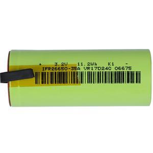 Image 2 - IFR 26650 35A LiFePo4 3500mAh 3.2V oplaadbare batterij 10 tarief ontlading met geschikt + DIY Nikkel lakens voor E  sigaret