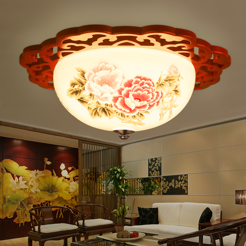 Modern Lamps Jingdezhen Ceramic Lamps Bedroom Family
