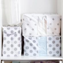 Foldable Storage Bag Organizer Clothes Blanket Quilt Closet Cabin Sweater Organizer Storage Box Pouches Organizador Container