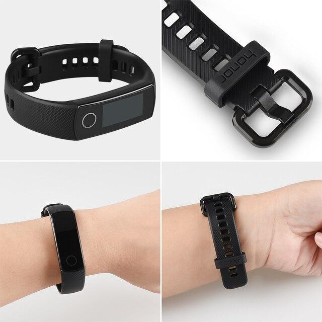 Original Huawei Honor Band 4 Smart Wristband 0 95 Amoled Color Touchscreen Swim display Posture