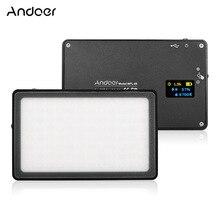 Andoer Mini lámpara LED para cámara, MFL 05, 3500K 5700K, regulable, 96LED, batería integrada para cámara DSLR Canon, Nikon, Sony