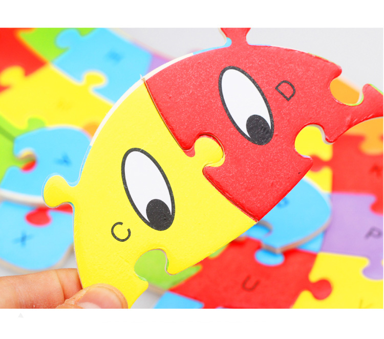 Puzzles Jigsaw Intelligence Games Toys For Children Kids 1