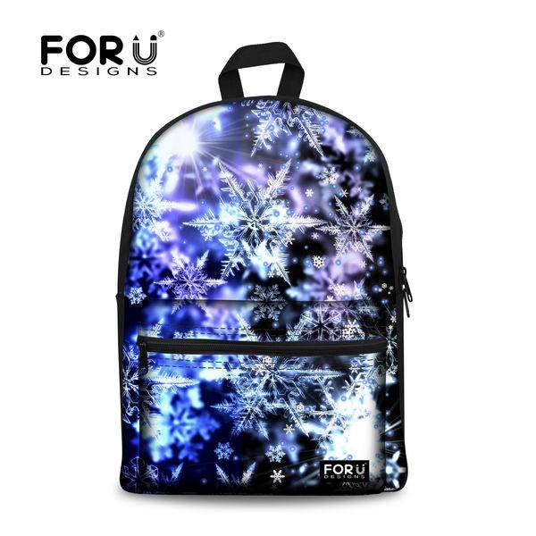 FORUDESIGNS/женские рюкзаки, крутой цветной Galaxy Star рюкзак для холстов для девочек-подростков, повседневный дорожный Школьный Рюкзак Для Ноутбука - Цвет: 2u0028J