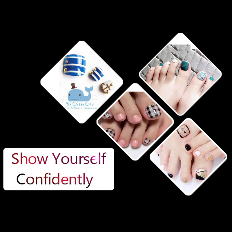 500pcspack false toe nail art tips full cover artifical acrylic 500pcspack false toe nail art tips full cover artifical acrylic fake foot nails white natural transparent manicure tools in false nails from beauty solutioingenieria Image collections