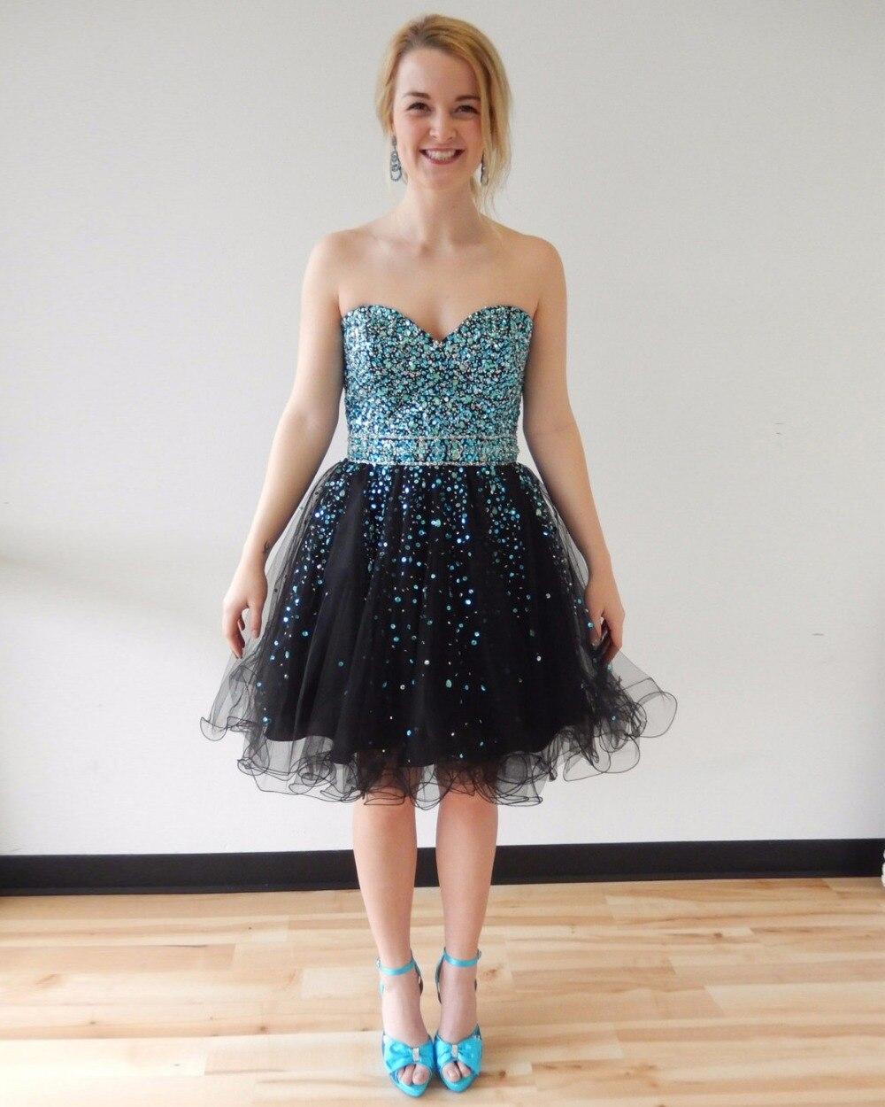 Cute black formal dresses