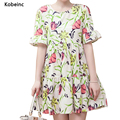 Fashion Flower Printed Breastfeeding Maternity Dress 2017 Summer Flouncing Sleeve Pregnancy Vestidos Nursing Plus Size Grossesse