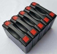 Caja de herramientas de plástico maleta Caja de Herramientas resistente al impacto funda de seguridad impermeable equipo Cámara funda con espuma precortada envío gratis