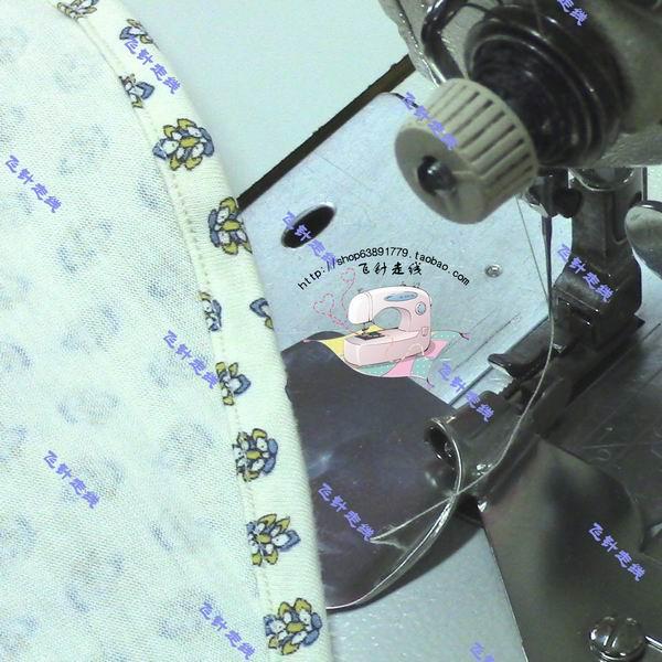 Machine à coudre liant industriel plat voiture chemise T-shirt côté inférieur arc curling dispositif tirer tambour robinet largeur 10mm attaché vidéo - 2