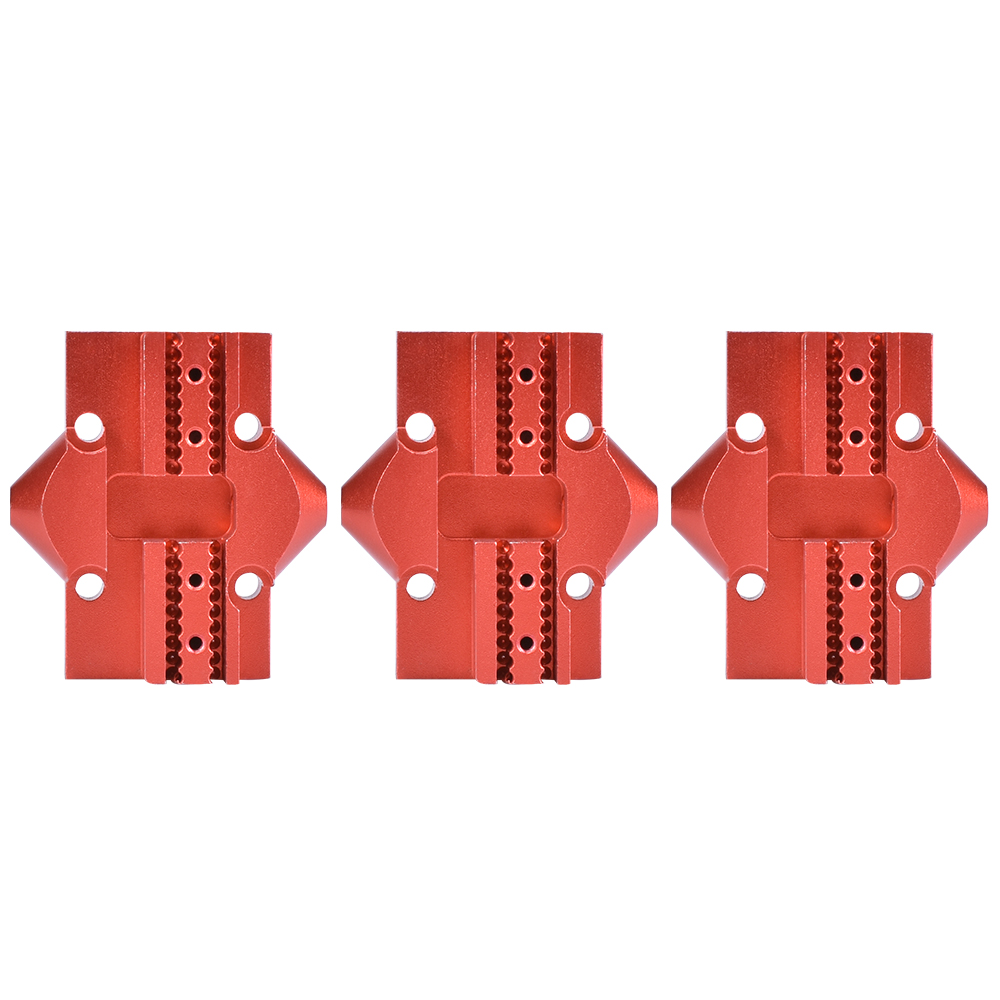 цена на 3PCS Kossel 3D Printer Accessories All-metal Delta Pulley Slip Regulation Hammock Station Effector Set Delta 20X20mm