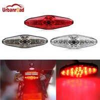 1 pièces moto 15 LED clignotants feux arrière 12 V 3000 k Portable intégré ATV moto feux arrière voiture accessoires