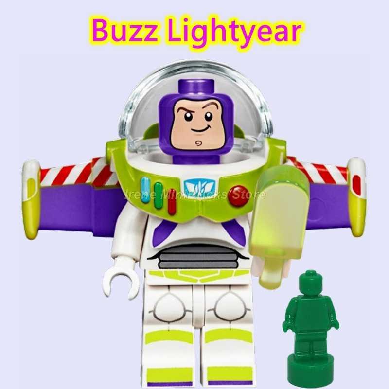 История игрушек 4 Джесси Вуди Базз Лайтер Габи ребенок инопланетянин Даки Волшебник Изумрудного города строительные блоки игрушки для детей подарок на день рождения