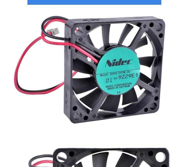 COOLING REVOLUTION D05X-24TM 18 5cm 5010 50x50x10mm 24V 0.07A Inverter industrial cooling fan
