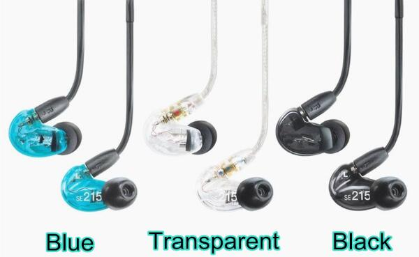 In Stock SE215 Hi Fi Stereo Headset Noise Canceling 3 5MM In Ear Earphones Separate Cable