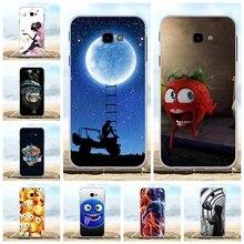 For Samsung Galaxy J4 Prime Case TPU Plus J415F J415FN J415G Cover Cute Pattern Shell