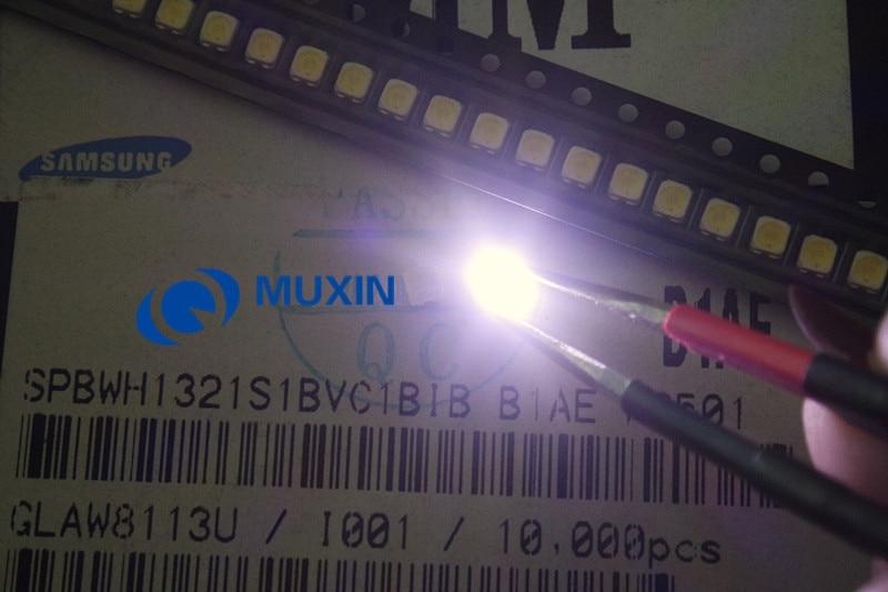 Image 3 - For SAMSUNG LED LCD Backlight TV Application LED Backlight TT321A 1.5W 3V 3228 2828 1000PCS Cool white LED LCD TV Backlight-in Light Beads from Lights & Lighting