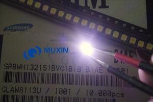 Image 3 - Per SAMSUNG LED di Retroilluminazione DELLO SCHERMO LCD TV Applicazione Retroilluminazione A LED TT321A 1.5W 3V 3228 2828 1000PCS bianco Freddo LED TV LCD Retroilluminazione