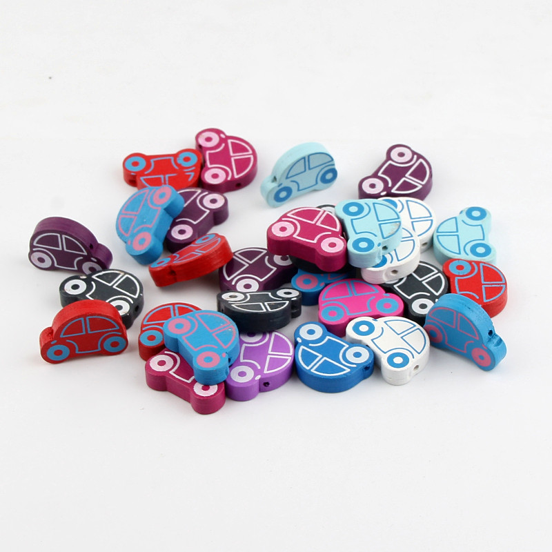 25pcs Baby Pacifier Charms Beads Pendants for DIY Kids Jewellery Crafts