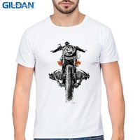 GILDAN New Men S Cool Zundapp Motorcycles Print Men S White Tee Shirts Summer Popular Short