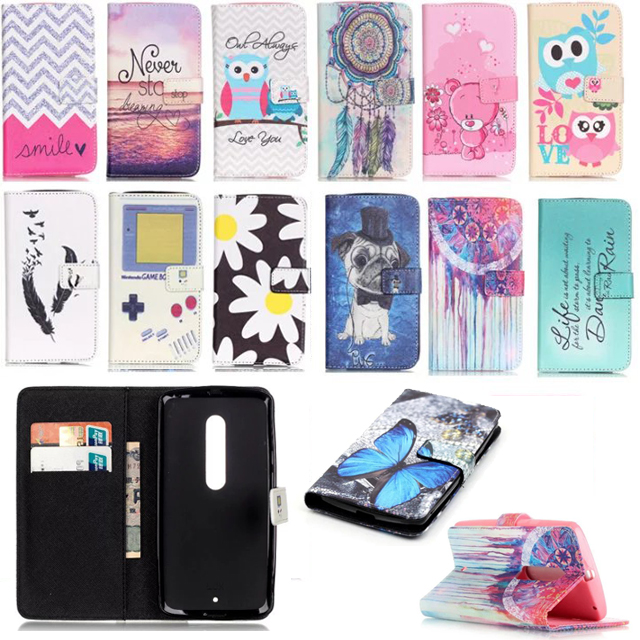 timeless design 7e289 c25ed US $2.4 52% OFF For Motorola Moto X Play case for MOTO Xplay XT1562 Case  Cartoon Wallet Magnetic Holster Flip PU Leather Phone Cases Back Cover-in  ...