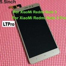 LTPro Schwarz/Weiß/Gold LCD Display Touchscreen Digitizer Assembly + Rahmen Für Xiaomi Redmi hinweis 3 hongmi anmerkung3/Note 3 Pro 150mm