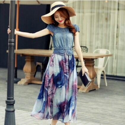 Long dress or short dress beach