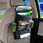 1pcs Car Seat Multifunction Car Back Cushion Vehicle Storage Bag Sundries Holder car accessories high quality.