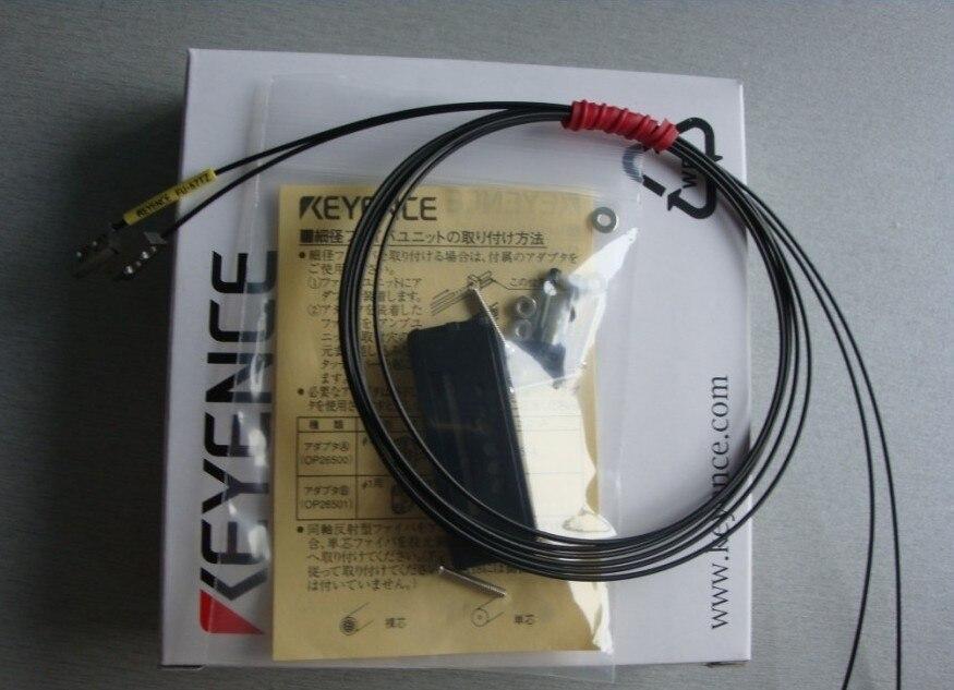 Tout nouveau capteur de fibre optique Keyence authentique original FU-57TZ garantie dun anTout nouveau capteur de fibre optique Keyence authentique original FU-57TZ garantie dun an