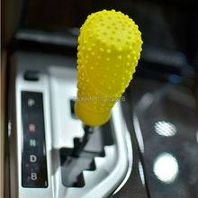 Oval Car Gear Shift Collars Silicone cover non slip for font b Jeep b font compass