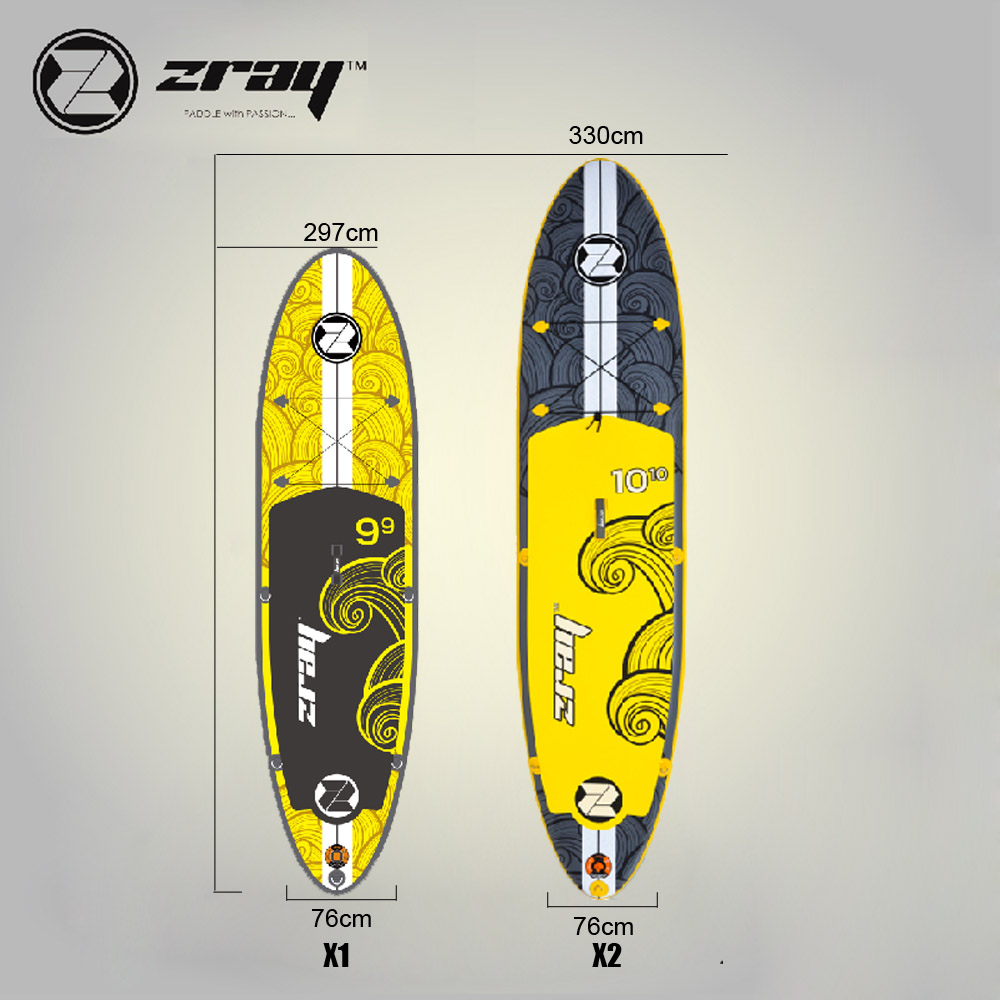 New design Zray X1 X2 inflatable sup stand up paddle board surfing board drop stitch inflatable stand up paddle boards inflatable surfing board