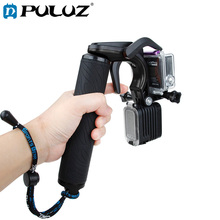 PULUZ Shutter Trigger Floating Hand Grip Diving Surfing Buoyancy Stick with Adjustable Anti-lost Strap GoPro Sport Camera
