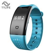TTLIFE бренд браслет Bluetooth Шагомер монитор сна умный Браслет-трекер активности SmartBand IP67 Pulseira inteligente