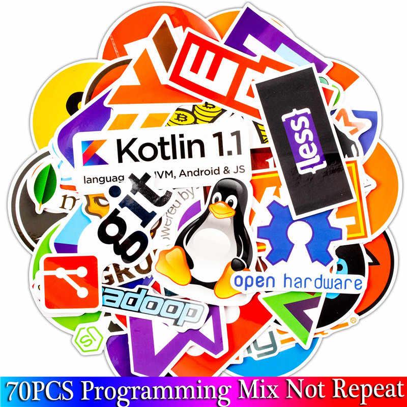 70 шт. Java интернет JS Php Docker Bitcoin Html облако Программирование язык приложение Логотип