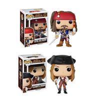 Hot Sale Funko Pop Jack Sparrow Figure PVC Pirates Of The Caribbean Action Figure Juguetes Model