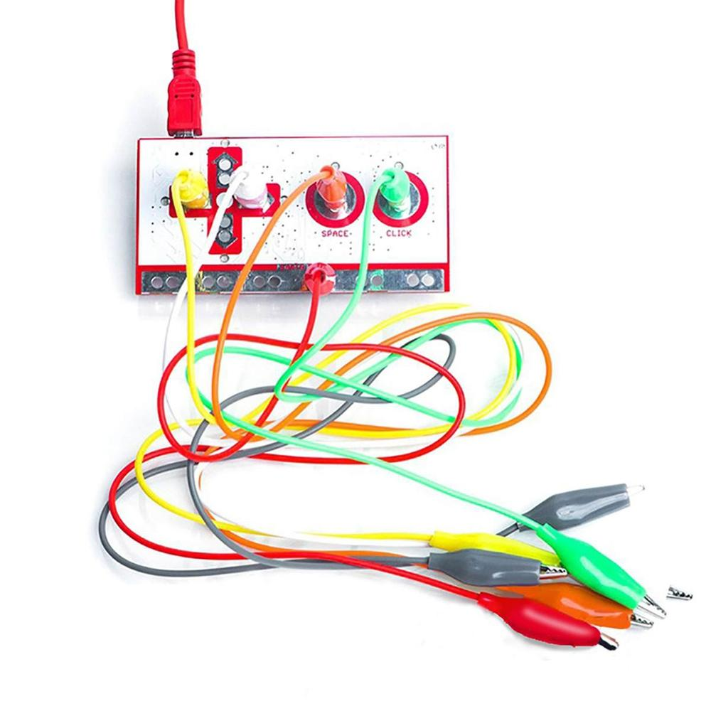 Nuevo para Makey práctica innovar Durable regalo niño Makey tablero de Control principal DIY Kit con Cable USB
