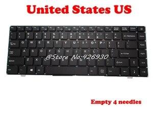 "Image 1 - ארה""ב RU מקלדת עבור Jumper עבור EZbook X4 K621US JM300 2 YJ 485 אנגלית PRIDE K2790 343000075 רוסית"